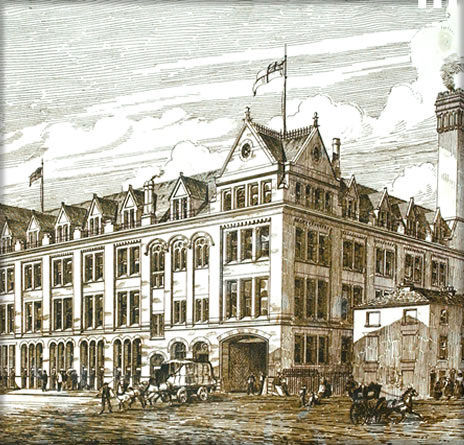 Chepstow House, Manchester 1870